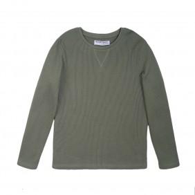 Плътна блуза за момче 3BWAFFLE5_F2-20