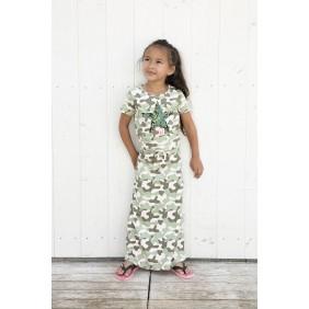 Детска дълга рокля