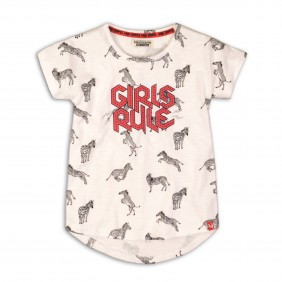 Тениска на зебри sassy_34071_A12-20