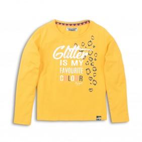 Блуза в жълто glitter_36019_F1-20