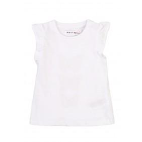 Бяла тениска с пеперуди daisy6_D18-20