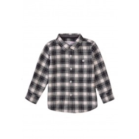 Карирана плътна риза