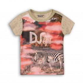 Тениска със зебра disco_30009_A12-20