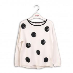 Фин пуловер с пайети void6_C33-20