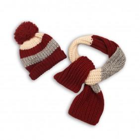Комплект шапка и шал headwear_ybht02b+scf08_C5-20