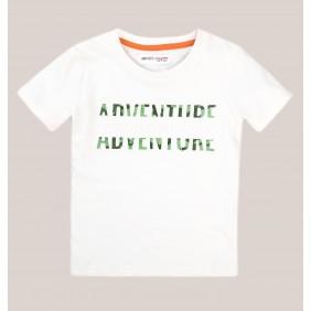 Тениска с релефен принт