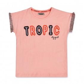 Тениска с ресни