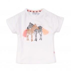 Тениска със зебри apricot_38227_D22-20