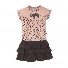 Комплект тениска с пола apricot_38209_A38-20