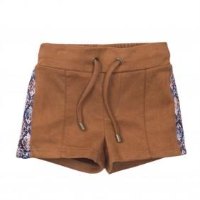 Къси панталони с велурен ефект