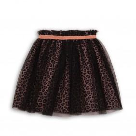 Елегантна пола с тюл leopard11_C24-20