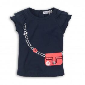 Красива тениска lurex_24228_navy_LA2-20