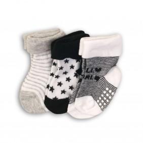 Три чифта бебешки чорапки fun0_nbb sock1_B36-20