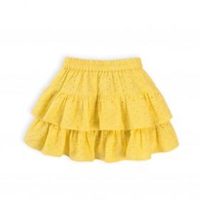 Жълта детска пола