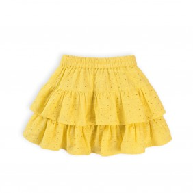 Жълта детска пола paradise8_D17-20